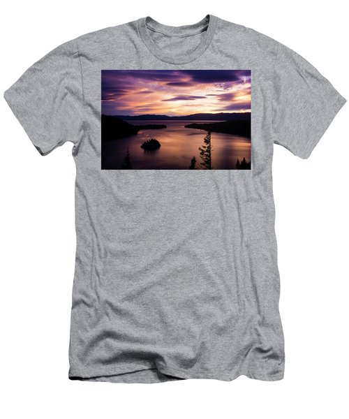 Emerald Bay Sunrise - Lake Tahoe, California Men's T-Shirt (Athletic Fit)
