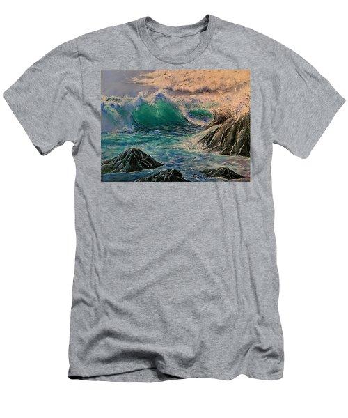 Emerald Sea Men's T-Shirt (Athletic Fit)