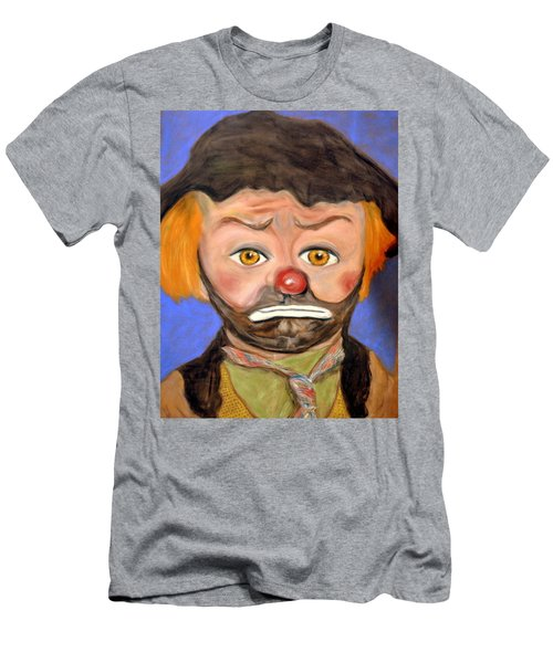 The Clown  Men's T-Shirt (Slim Fit) by Antonia Citrino