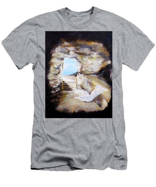 Empty Burial Tomb Men's T-Shirt (Athletic Fit)
