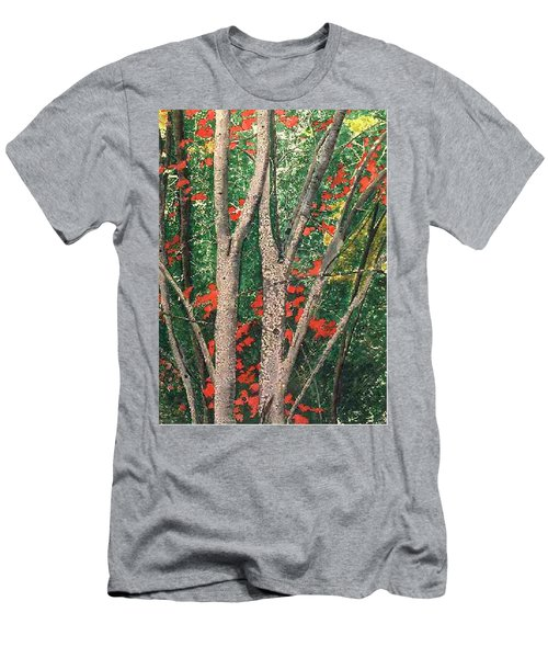 Enchanted Birches Men's T-Shirt (Athletic Fit)