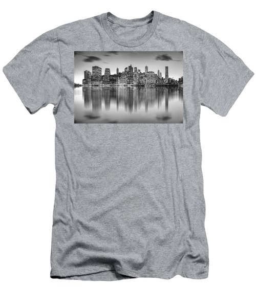 Enchanted City Men's T-Shirt (Slim Fit) by Az Jackson