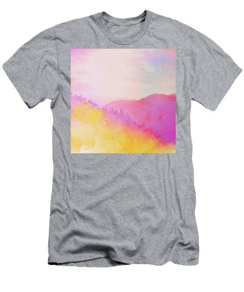 Enchanted Scenery #2 Men's T-Shirt (Slim Fit) by Klara Acel