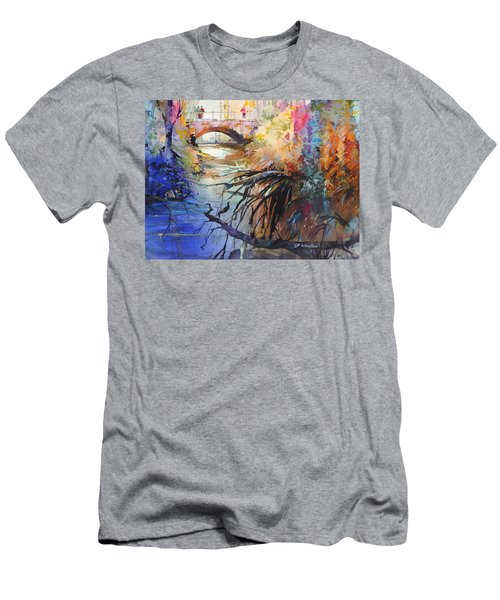 Enchanted Waters Men's T-Shirt (Slim Fit) by P Anthony Visco