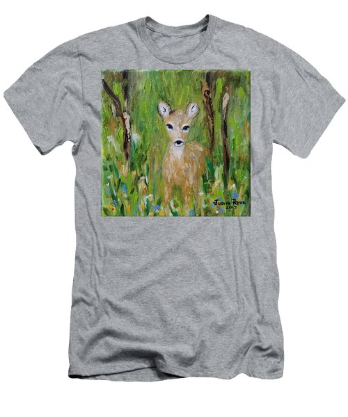 Men's T-Shirt (Athletic Fit) featuring the painting Enchantment by Judith Rhue