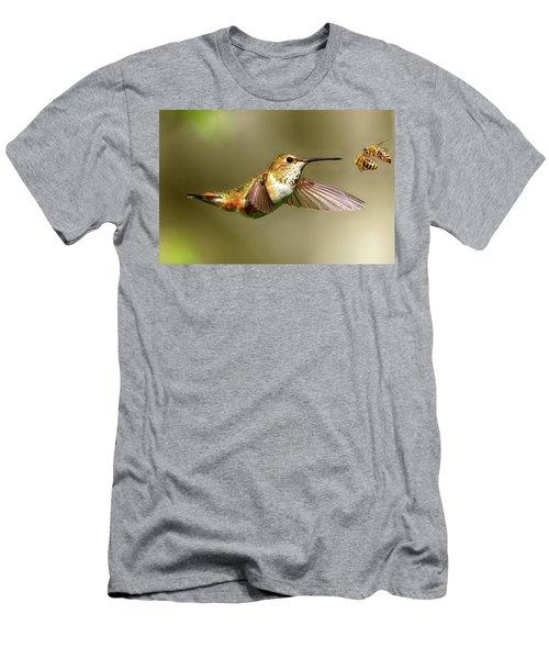 Encounter Men's T-Shirt (Slim Fit) by Sheldon Bilsker