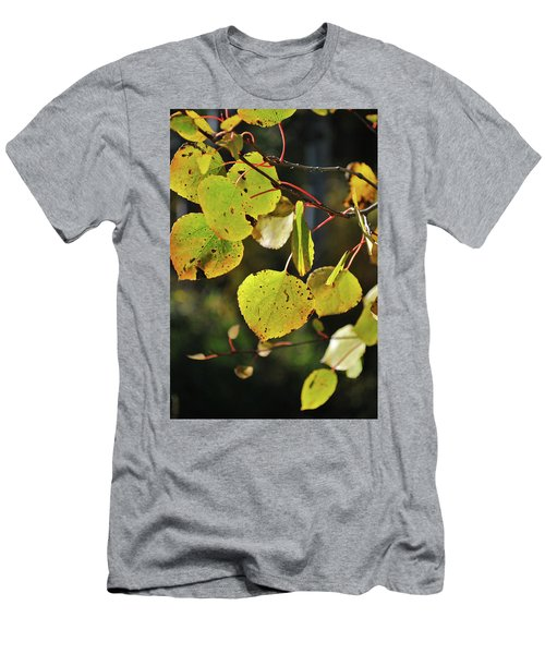 Men's T-Shirt (Athletic Fit) featuring the photograph End Of Summer by Ron Cline