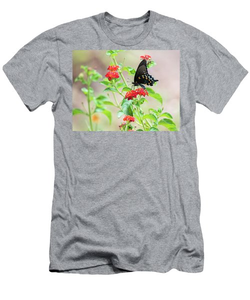 Men's T-Shirt (Athletic Fit) featuring the photograph End Of Summer  by Saija Lehtonen
