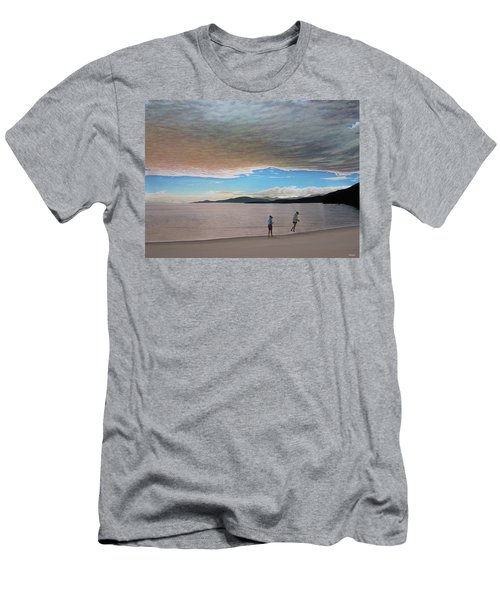 English Bay Vancouver Men's T-Shirt (Slim Fit) by Kenneth M  Kirsch