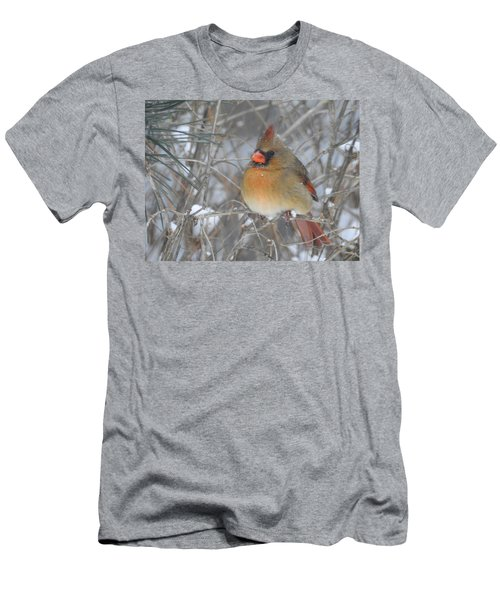 Enjoying The Snow Men's T-Shirt (Athletic Fit)