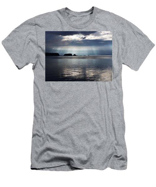 Enlightened Men's T-Shirt (Slim Fit) by Karen Horn