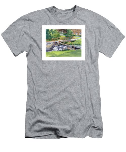 Ensign - Bickford Waterfall Men's T-Shirt (Athletic Fit)