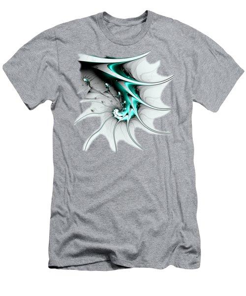 Men's T-Shirt (Athletic Fit) featuring the digital art Entity by Anastasiya Malakhova