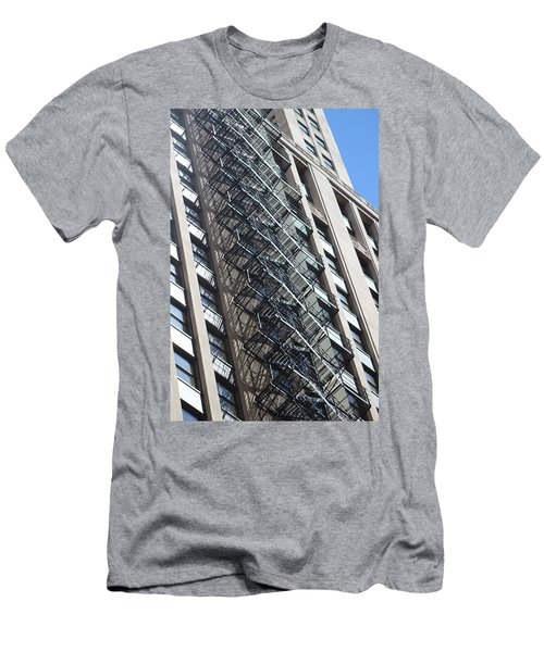 Escaping A Chicago Brownstone Men's T-Shirt (Athletic Fit)