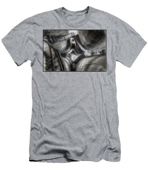 Escher Stairwell Men's T-Shirt (Athletic Fit)