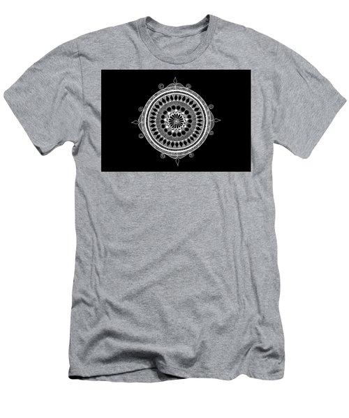 Estrella Mandala Men's T-Shirt (Athletic Fit)