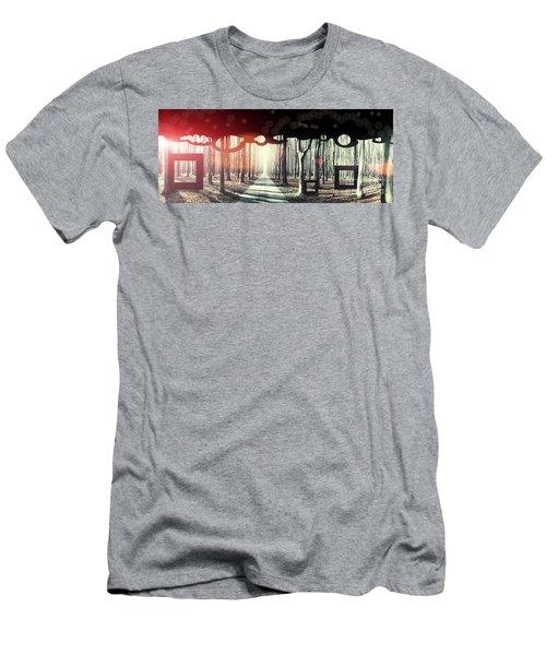 Eternity, Conceptual Background Men's T-Shirt (Athletic Fit)