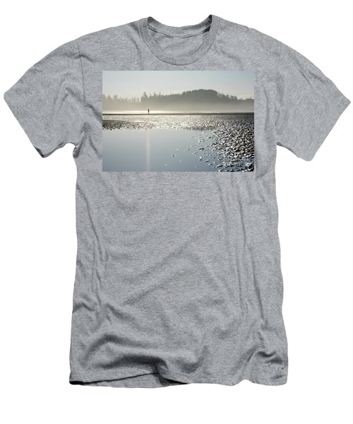 Ethereal Reflection Men's T-Shirt (Athletic Fit)