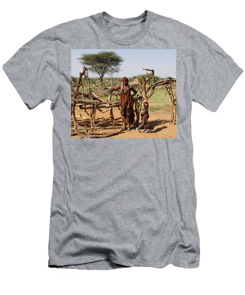 Ethiopia-south Mother And Baby No.2 Men's T-Shirt (Athletic Fit)