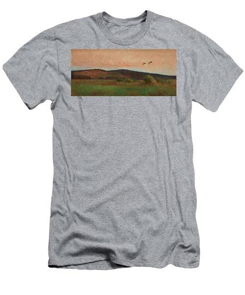 Eurasian Woodcocks Men's T-Shirt (Slim Fit) by Bruno Liljefors
