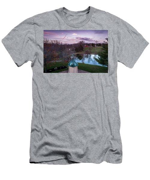 Evening Dove Men's T-Shirt (Athletic Fit)