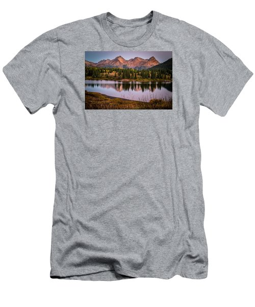 Evening Glow At Molas Lake Men's T-Shirt (Athletic Fit)