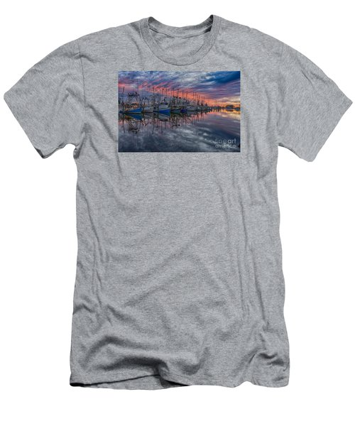 Men's T-Shirt (Slim Fit) featuring the photograph Evening Glow by Brian Wright