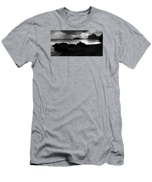 Men's T-Shirt (Athletic Fit) featuring the photograph Evening In Le Gaulatte by Julian Cook
