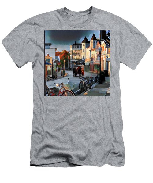 Evening On Mackinac Island Men's T-Shirt (Athletic Fit)
