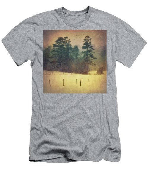 Evening Snow Glow Men's T-Shirt (Athletic Fit)