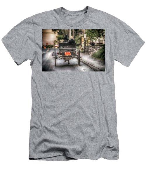 Evening Traveler Men's T-Shirt (Athletic Fit)