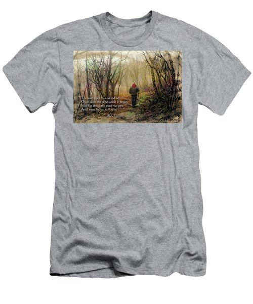 Men's T-Shirt (Slim Fit) featuring the photograph Ever On And On... by Jessica Brawley