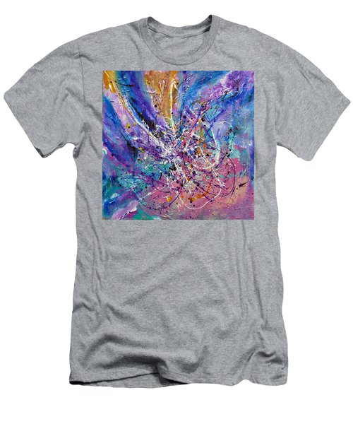 Every Single Second Men's T-Shirt (Slim Fit) by Tracy Bonin
