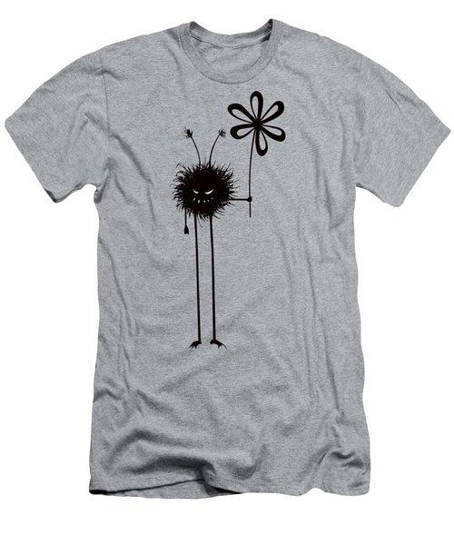 Evil Flower Bug Men's T-Shirt (Slim Fit)
