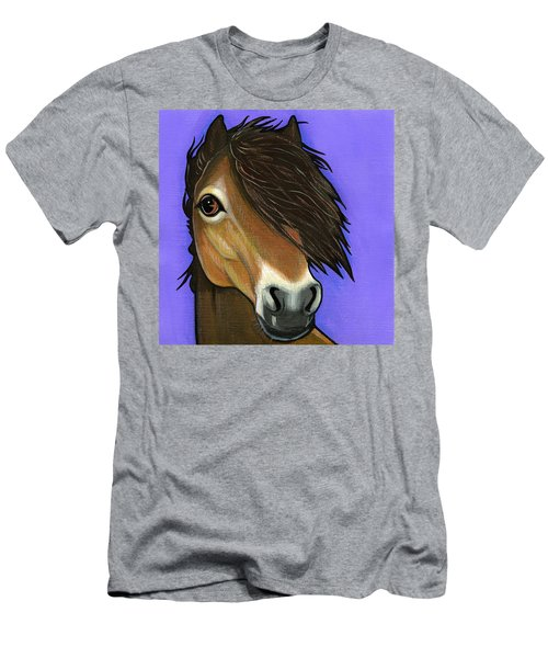 Exmoor Pony  Men's T-Shirt (Athletic Fit)