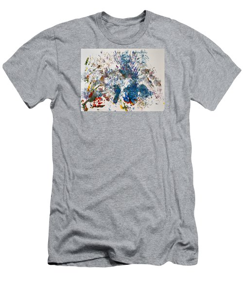 Explosion At The Macaroni Factory Men's T-Shirt (Athletic Fit)