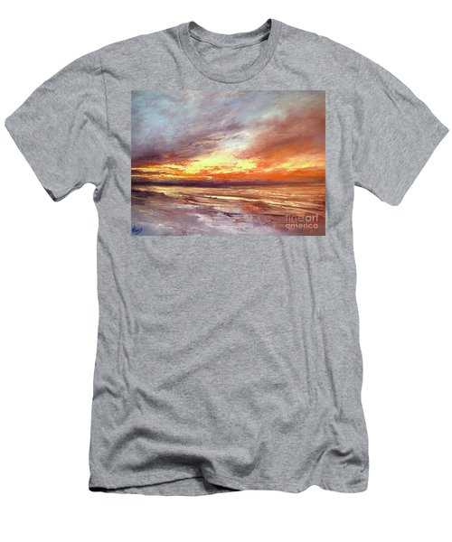 Explosion Of Light Men's T-Shirt (Athletic Fit)