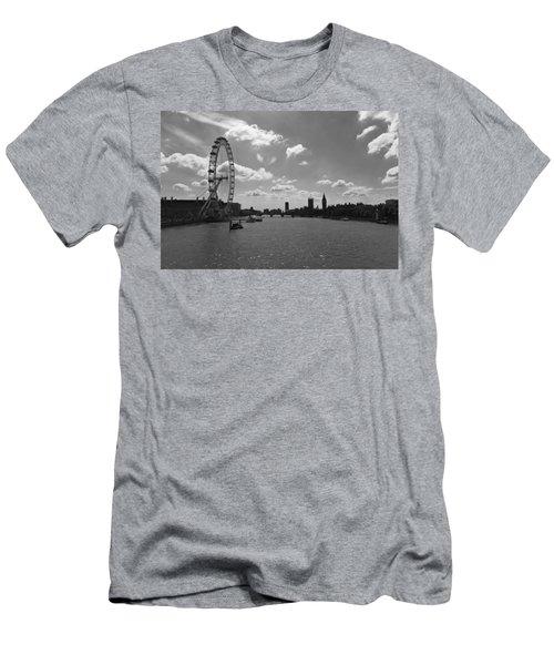 Eye And Parliament Men's T-Shirt (Slim Fit) by Maj Seda