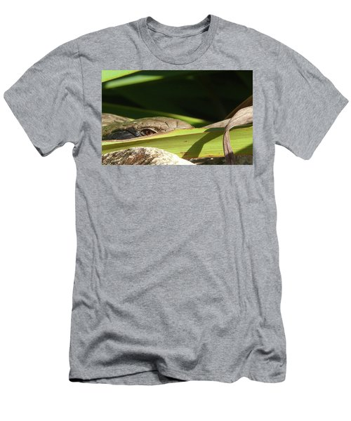 Eye Contact Men's T-Shirt (Slim Fit) by Evelyn Tambour