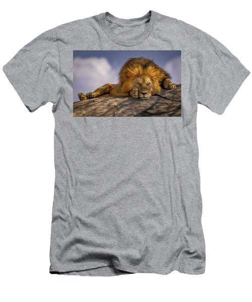 Eye Contact On The Serengeti Men's T-Shirt (Athletic Fit)