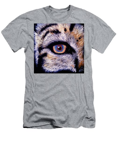 Eye Of A Tiger Men's T-Shirt (Athletic Fit)