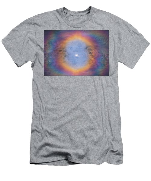 Men's T-Shirt (Athletic Fit) featuring the photograph Eye Of The Eclipse  by Darren White