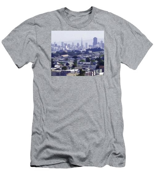 Looking East Toward San Francisco Men's T-Shirt (Athletic Fit)