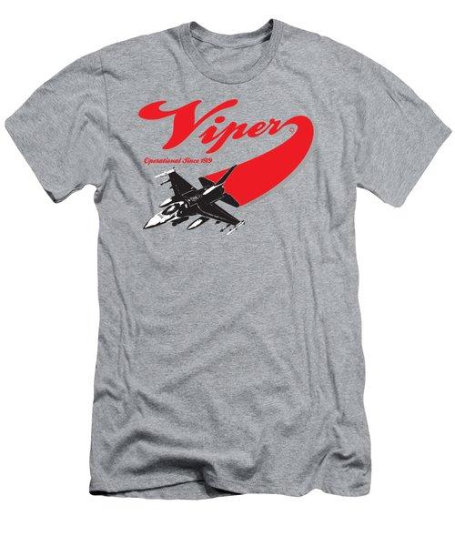 F-16 Swoop Men's T-Shirt (Athletic Fit)