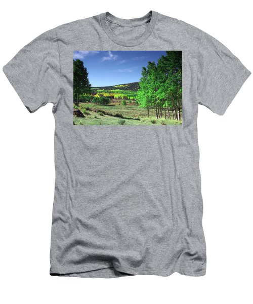 Faafallscene106 Men's T-Shirt (Athletic Fit)