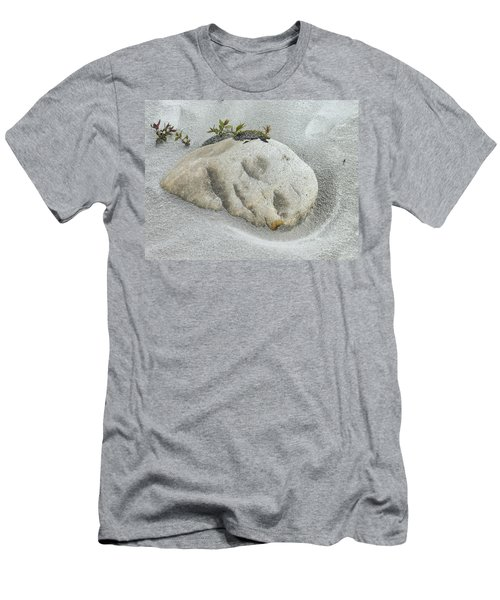Face In The Sand At Baird Glacier Outwash Men's T-Shirt (Athletic Fit)