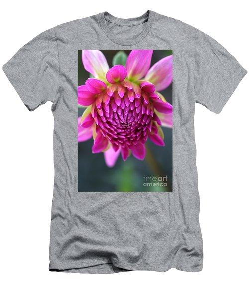 Face Of Dahlia Men's T-Shirt (Athletic Fit)