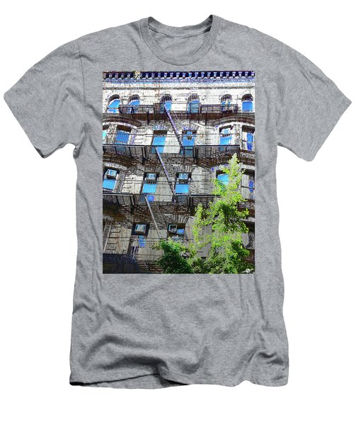 Face The Sky Men's T-Shirt (Athletic Fit)