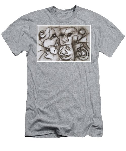 Faces And Places Men's T-Shirt (Athletic Fit)
