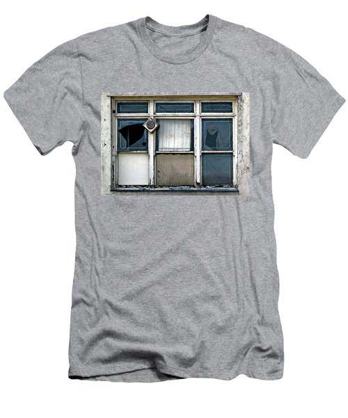 Factory Windows Men's T-Shirt (Slim Fit) by Ethna Gillespie